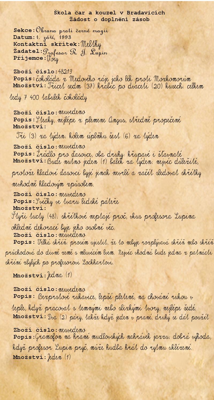 Fanfiction datování remus lupina